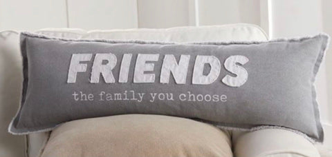 Mud Pie Friends & Family Pillow