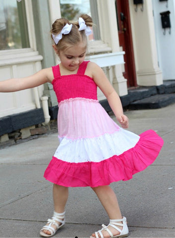 Toddler/Juniors Tiered Easter Midi