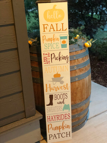Fall Porch Sip & Sign Class 9/13- 4 Sign Options