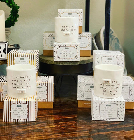 Mud Pie Mom Candles-3 Options
