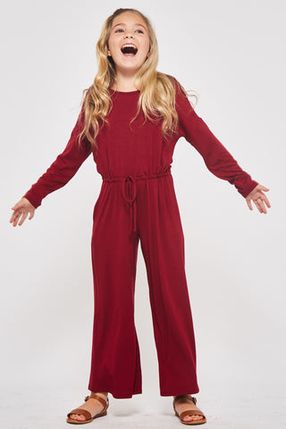 Juniors Berry Jumpsuit