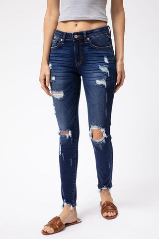 KanCan Summer Ripped Denim Jeans
