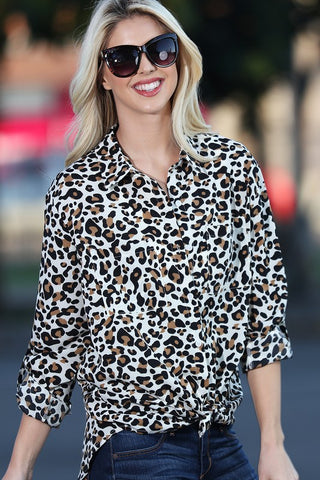 Lovely Leopard Blouse