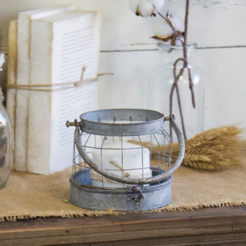 Metal Wire Candle Holder