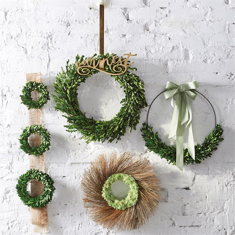 Mud Pie Moss & Twig Wreath