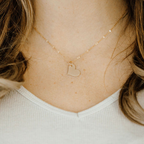 Nashelle Lucky Heart Necklace