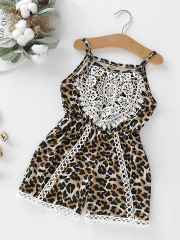 Toddler Leopard Jumpsuit-Coming Soon