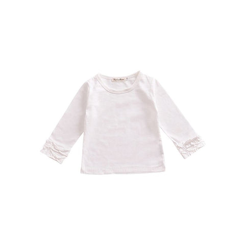 Toddler Ruffle Sleeve Tee