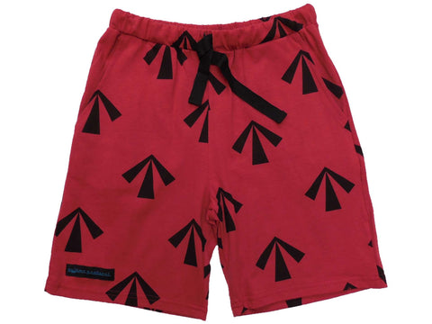mens pyjama sleep shorts summer the convicted red