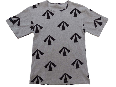 mens & womens pyjama tee 190 gsm 'The Convicted' grey