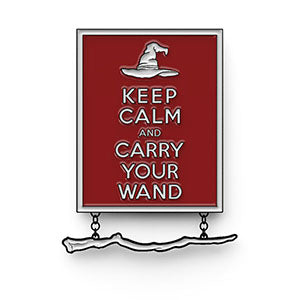 Keep Calm and Carry Your Wand