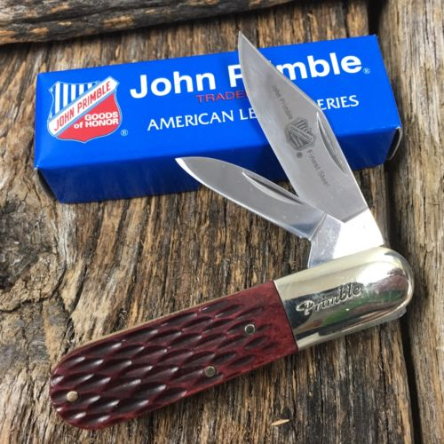 John Primble Barlow Pocket Knife 3 1/4