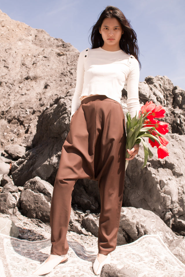 Neko Pants Brown