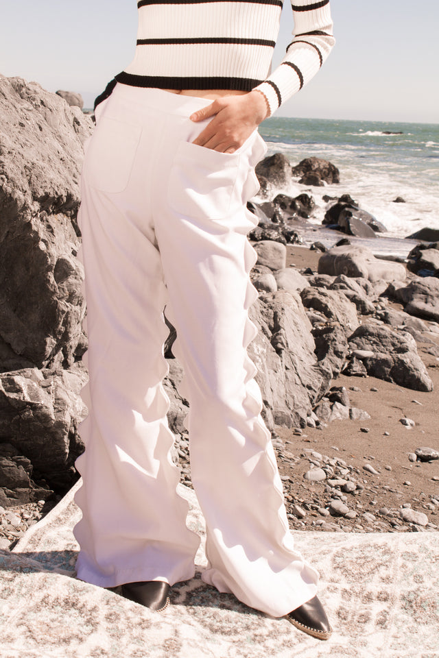 Veronica Scallop Pants