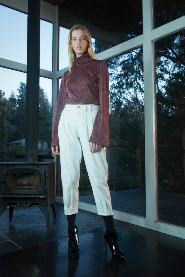 Giselle Top Burgundy