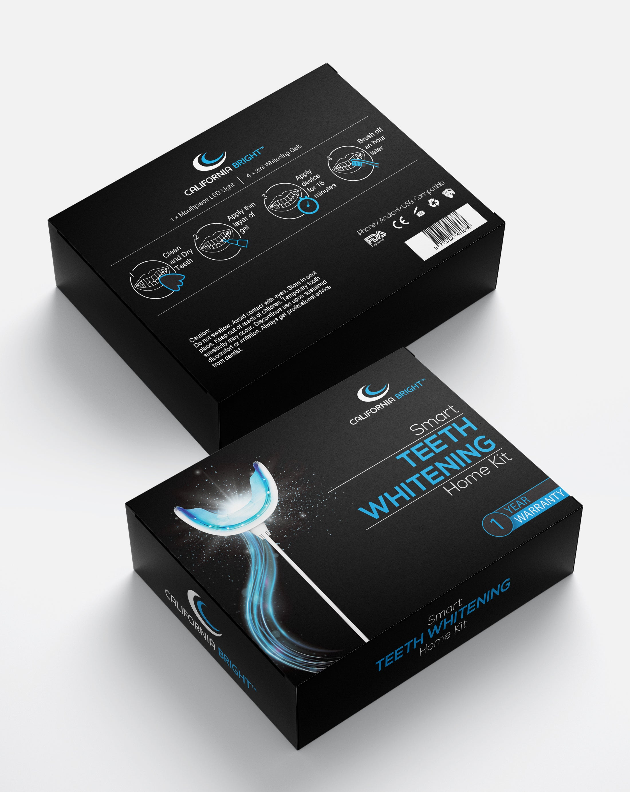 California Bright Teeth Whitening Kit