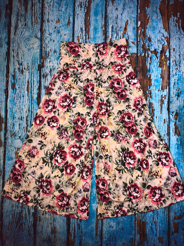 Forever Floral Gauchos