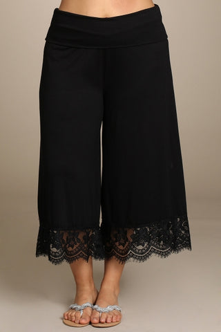 Black Lace Gauchos