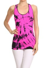 Ink Blot Fuchsia Seamless Tank