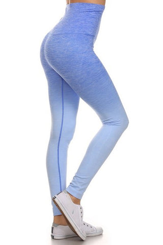 Royal Blue Ombré Active Pants