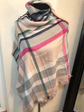 Colorful Blanket Scarf