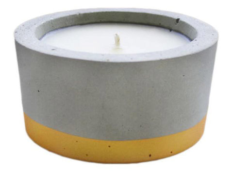 Concrete Soy Candle - Fig Tree, Medium by Whitewick Home