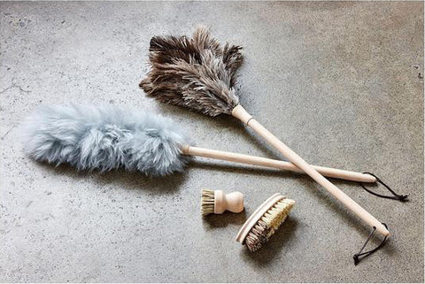 Dickens Ostrich Feather and Wool Duster by Academy
