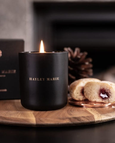 Warm Jam Donut Candle by Haley Marie
