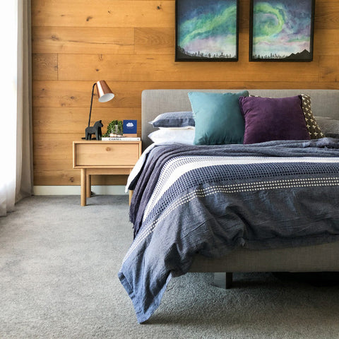 How to style a bedroom - whole bedroom