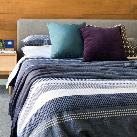 How to style a bedroom - cushions
