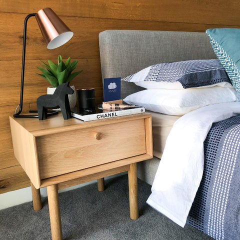 How to style a bedroom - homewares