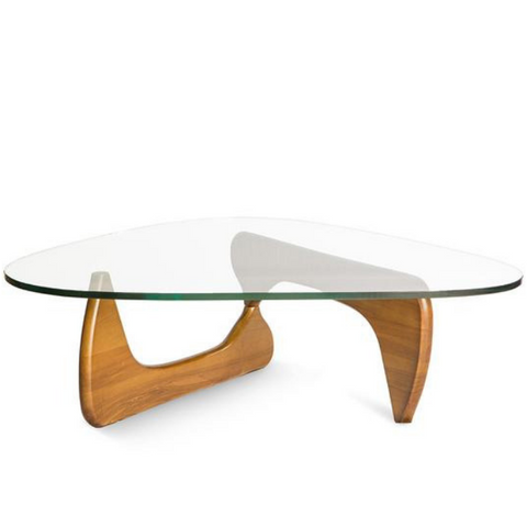 Noguchi Coffee Table Replica - Light Walnut