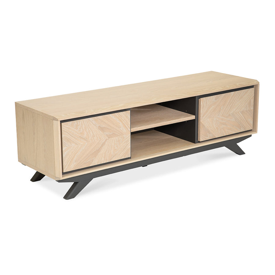 Archer Modern Scandinavian Wooden Oak Entertainment Unit INTERIOR SECRETS  TV2003-VN Helga Entertainment TV Unit , RETROJAN  Maddox Contemporary Entertainment Unit - Large