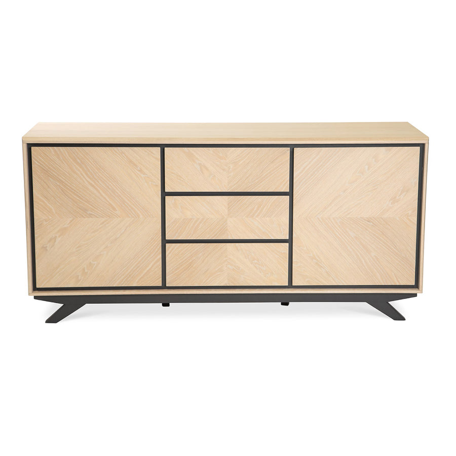 Archer Modern Scandinavian Wooden Oak Sideboard INTERIOR SECRETS  DT2260-VN Helga Wide Sideboard And Buffet