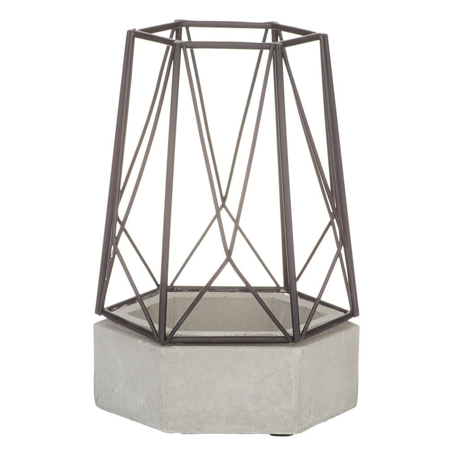 Candle Holders Emporium Camilla Candle Lantern, Small HDCHE569BK