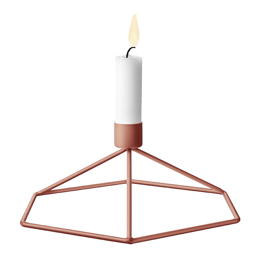 Candle Holders Menu POV Table Candle Holder - Terracotta 4767269