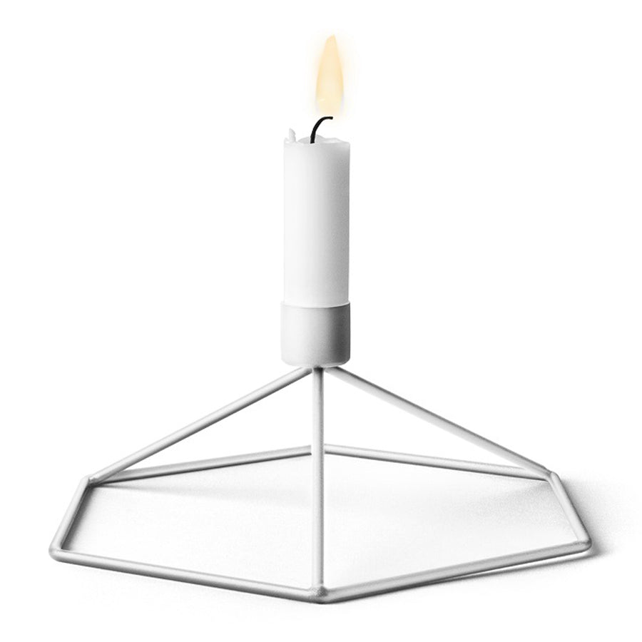 Candle Holders Menu POV Table Candle Holder - White 4767639