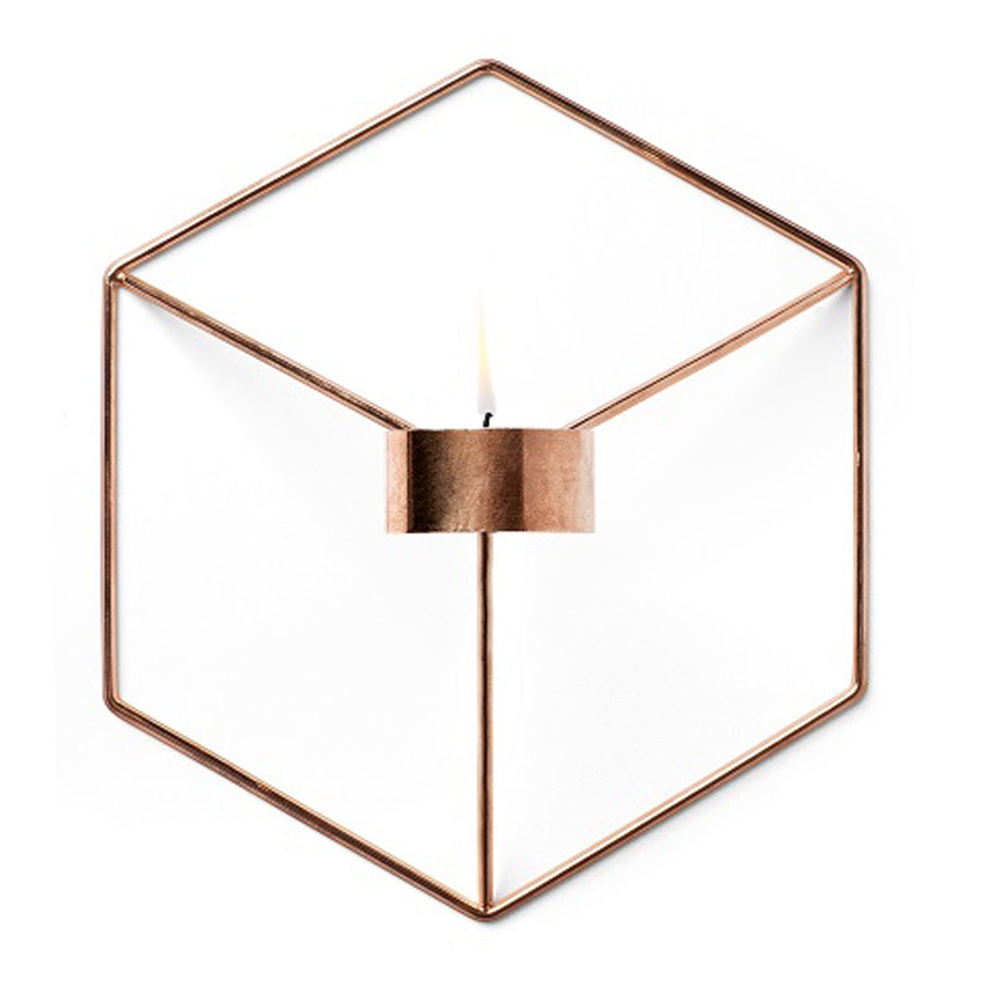 Candle Holders Menu POV Wall Candle Holder - Copper 4766239