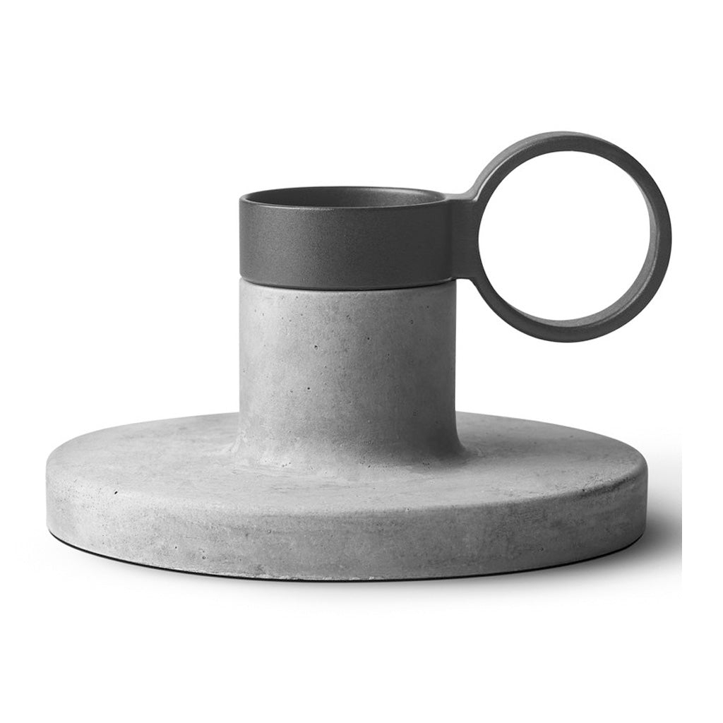 Candle Holders Menu Weight Here Candleholder - Medium, Grey 4757139