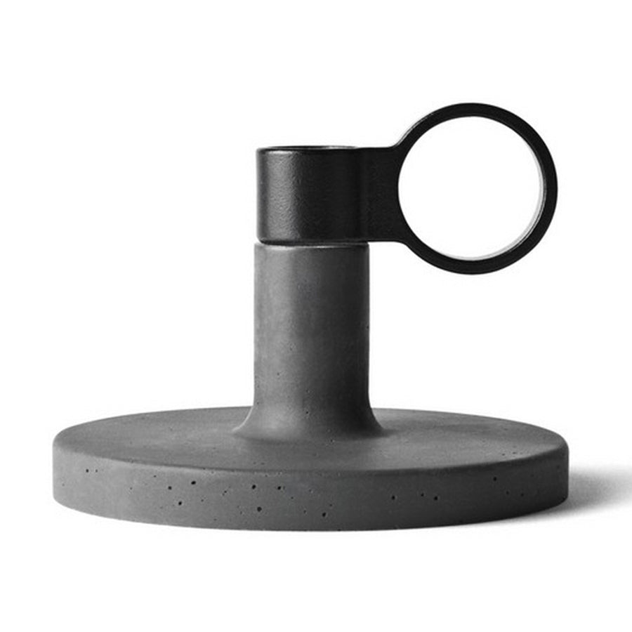Candle Holders Menu Weight Here Candleholder - Small, Dark Grey 4756159