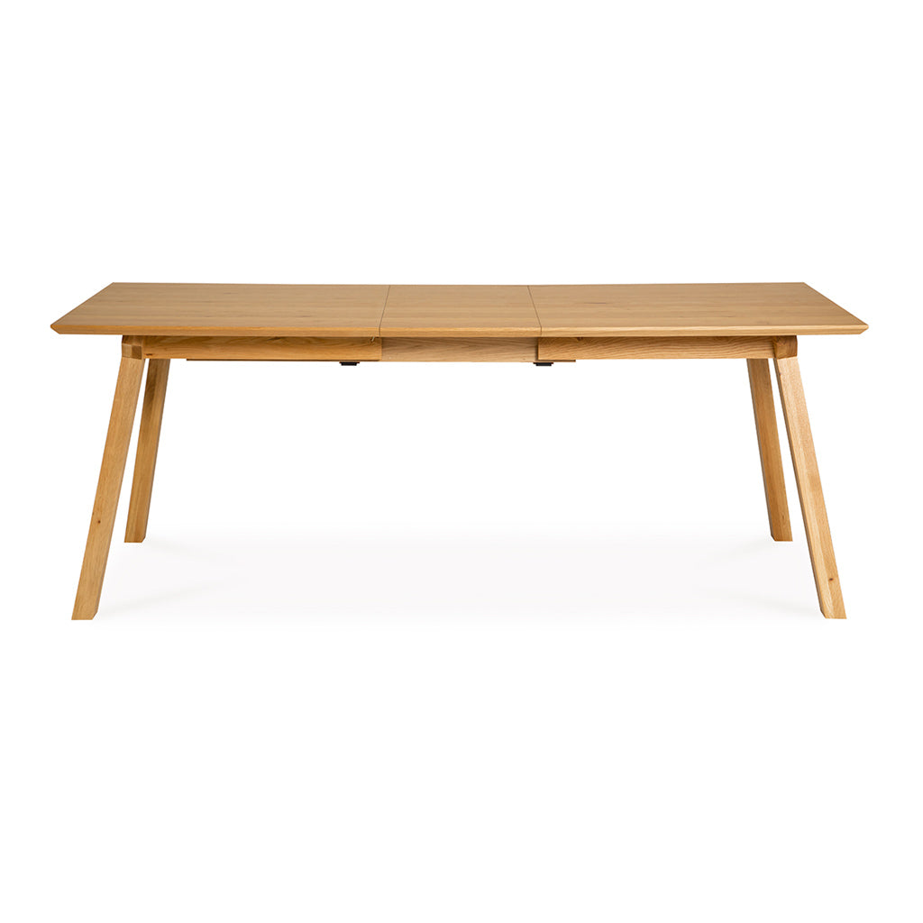 Charlotte French Provincial Rustic Scandinavian Wooden Oak Extendable 6 - 8 Seater Dining Table INTERIOR SECRETS  DT797-VN Gustaf Scandinavian 1.6m-2m Extendable Dining Table