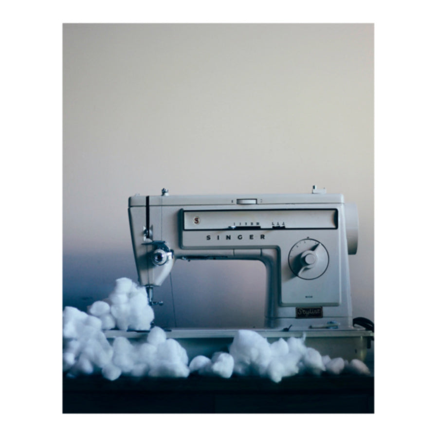 Cloud Factory Reignbow Sewing Machine Photo Print