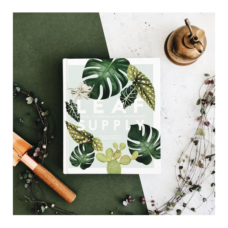 Coffee Table Books-Smith Street Books - Lauren Camilleri + Sophia Kaplan - Leaf Supply: A Guide to Keeping Happy House Plants - 9781925418637
