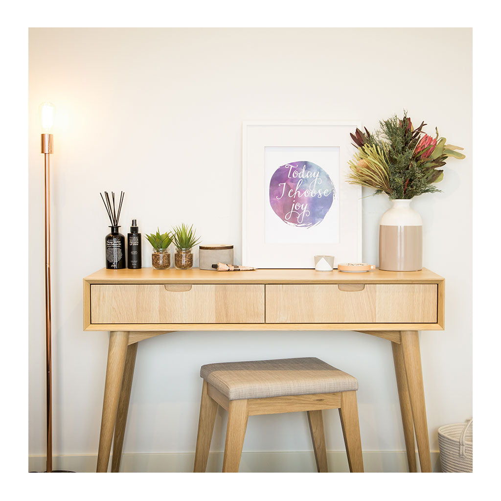 Ingrid Retro Scandinavian Wooden Oak Console Table with Drawers BROSA Mia Console Table With Drawers INTERIOR SECRETS DT776-VN Johansen Console Table with Drawers RETROJAN Vaasa Tyson Console - Oak MATT BLATT Stockholm Console Table LIFE INTERIORS Stockholm Console Table Drawer Oak