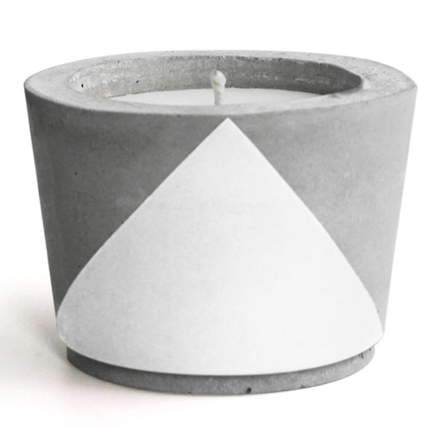 Decor Whitewick Home Concrete Soy Candle - Gardenia, Small