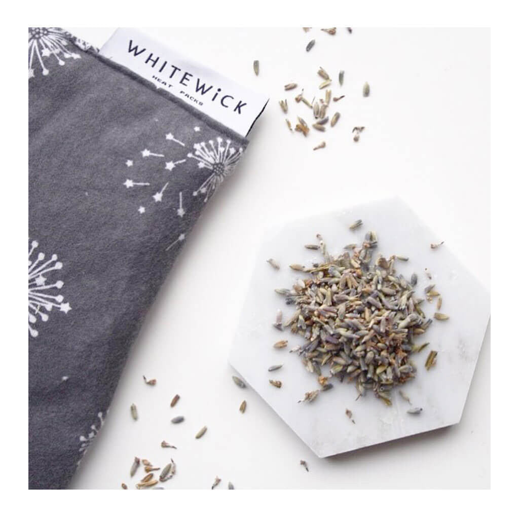 Decor Whitewick Home Square Heat Pack   Dandelions, Small lavender buds