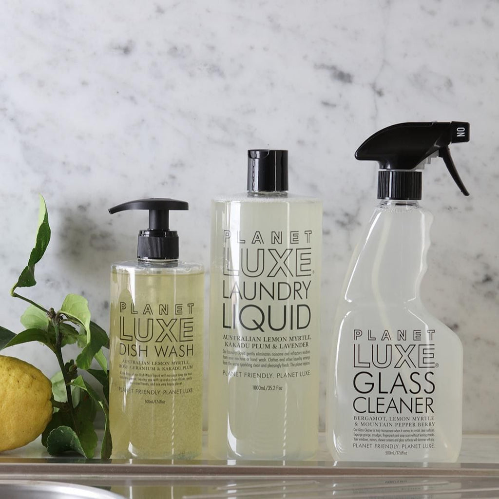 Home Cleaning Planet Luxe Glass cleaner lifestyle GC0017-500