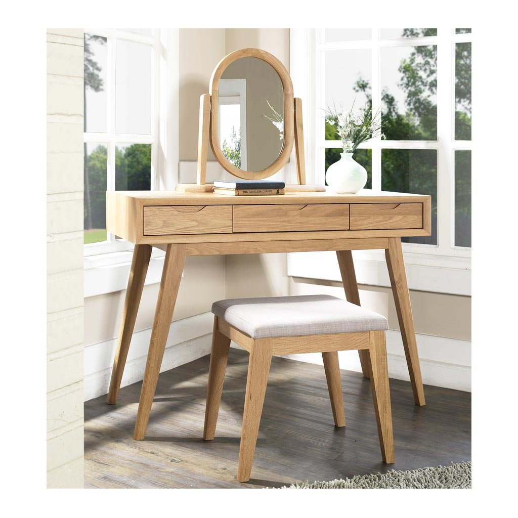 Erika Scandinavian Wooden Console Table With Drawers The Design Edit