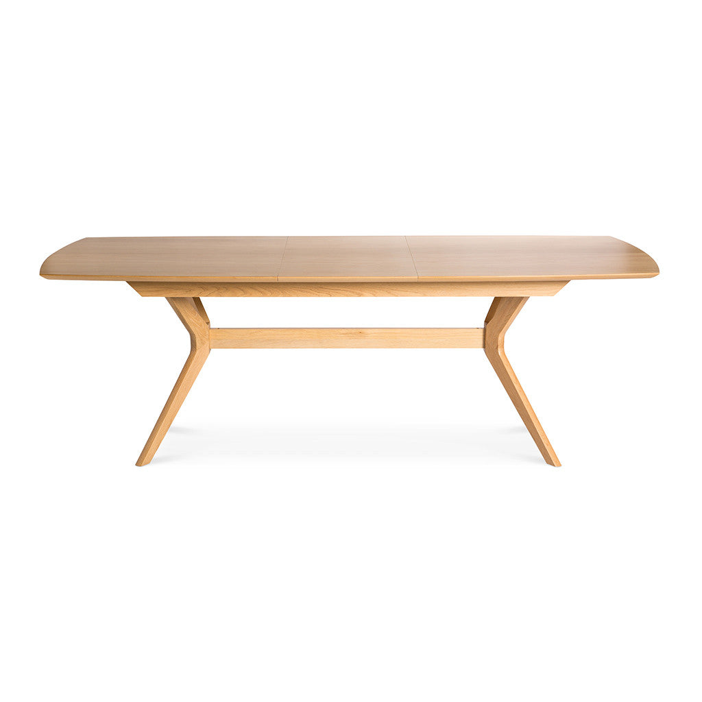 Erika Scandinavian Wooden Oak Extendable 6 - 8 Seater Dining Table BROSA TBLELZ16OAK Elizabeth Extendable Dining Room Table, INTERIOR SECRETS  DT953-VN Nora Wooden Top Extendable Dining Table, RETROJAN Harper Extension Dining Table - Oak