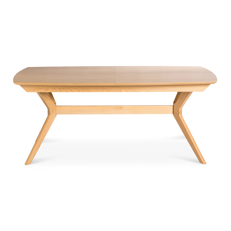 Erika Scandinavian Wooden Oak Extendable 6 - 8 Seater Dining Table BROSA Elizabeth Extendable Dining Room Table INTERIOR SECRETS DT953-VN Nora Wooden Top Extendable Dining Table RETROJAN Cecily Drop Leaf Extension Dining Table - Oak